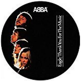 """Abba - Eagle / Thank You for the Music (Picture Disc) [7"""" VINYL]"""